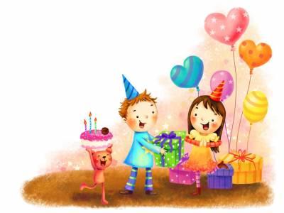 Поздравление прилагательными на день рождения